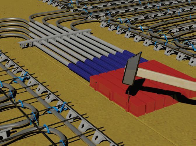 A PipeLife WH-SLBOX átvezető dobozok rögzítése