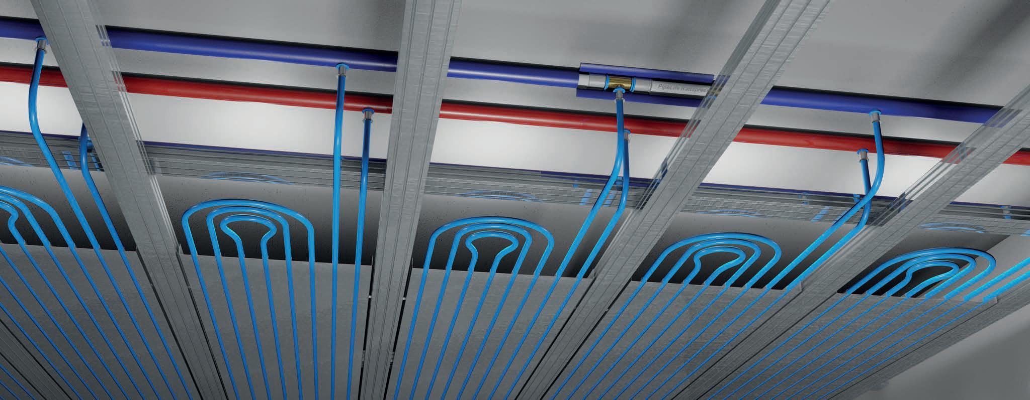 PipeLife CDP-400 csőrendszer álmennyezetben