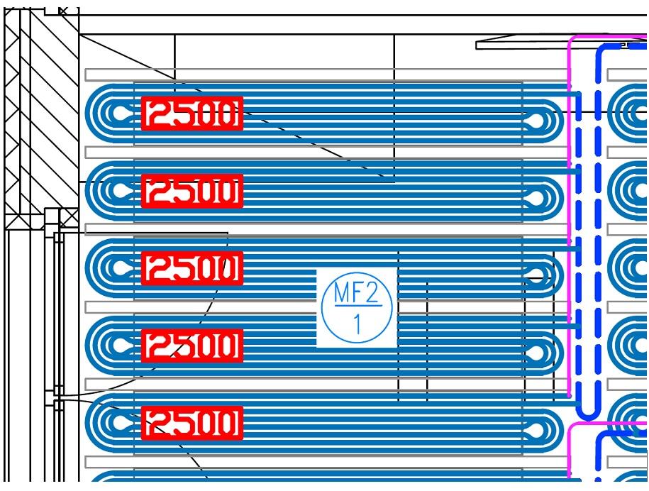 PipeLife CDP-400 Tichelmann elrendezésű kapcsolása