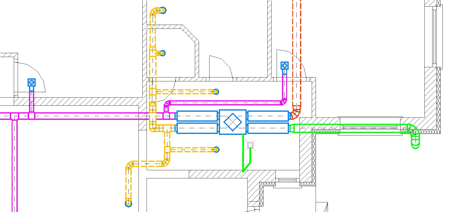 Légtechnika terv